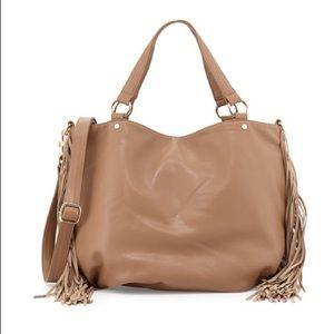 Deux Lux hobo fringe purse